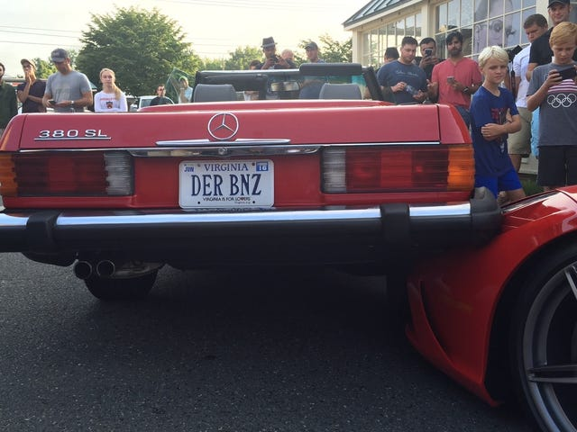 Ferrari 458 Speciale Mutilated In Front Of Children At Cars & Coffee