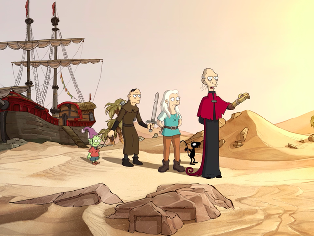 Bean embarks on adventure for immortality (and Elfo) on a rollicking Disenchantment