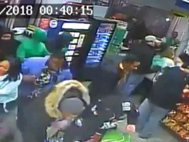 Breaking Down The Philly Gas Station Looting Footage