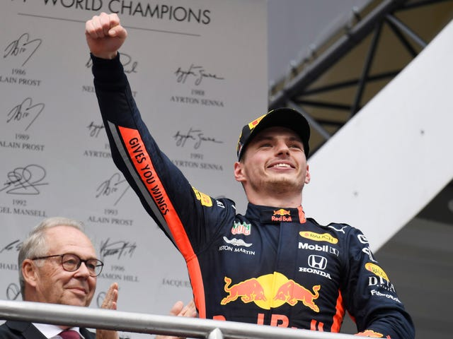 Verstappen Reaffirms He's The Future While Vettel Has Brilliant Comeback At German Grand Prix