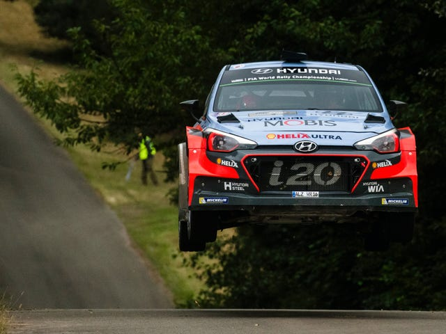 I'm At Rallye Deutschland To Watch WRC Cars Fly