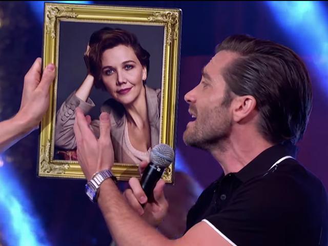 "Jake Gyllenhaal lauds sister Maggie as ""The Greatest Gyllenhaal"" during Whitney Houston song parody"
