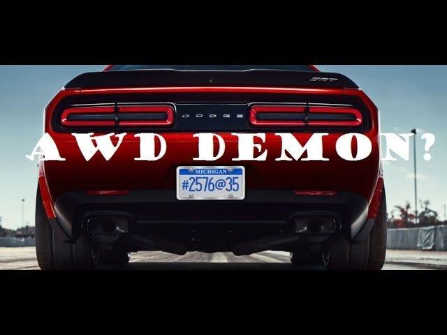 Dodge Challenger Demon è AWD?
