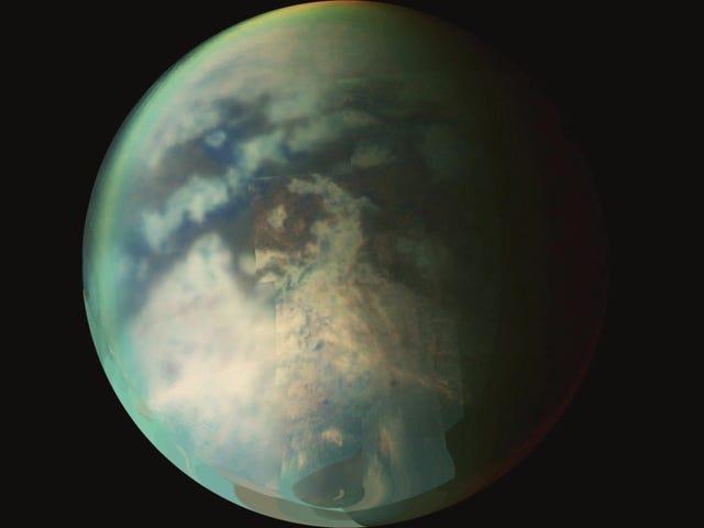 'Wet Sidewalk Effect' Solves Mystery of Rain on Saturn's Moon Titan