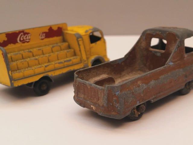 Two old Lesney Trucks. #Junkyard