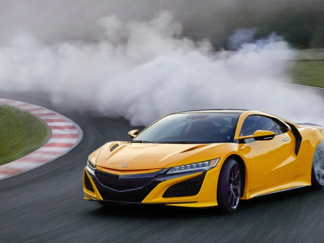 The Acura NSX Is Finally Available In Yellow Again