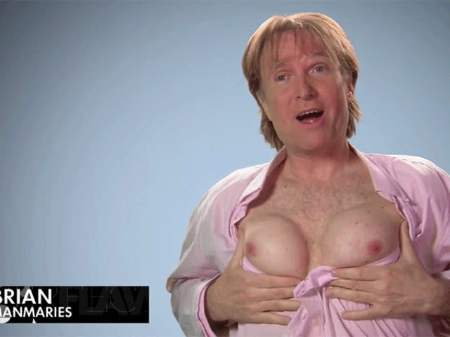 Did You Hear About the Dude Who Got Breast Implants To Win a $100,000 Bet?