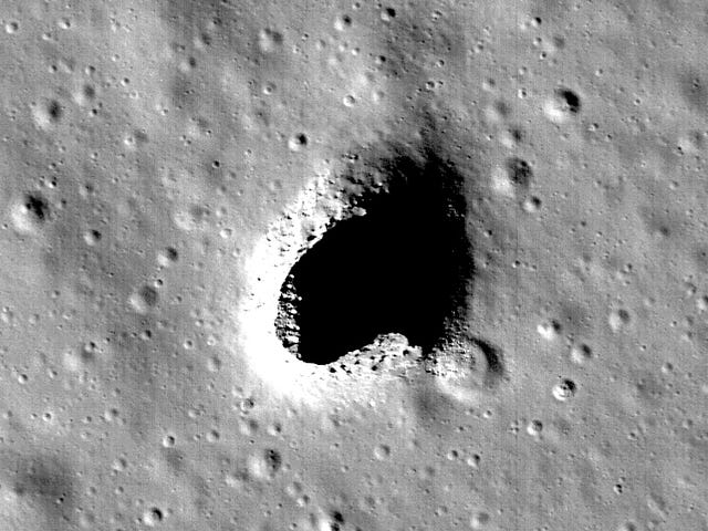 Scientists Just Found the Perfect Spot to Build an Underground Colony on the Moon