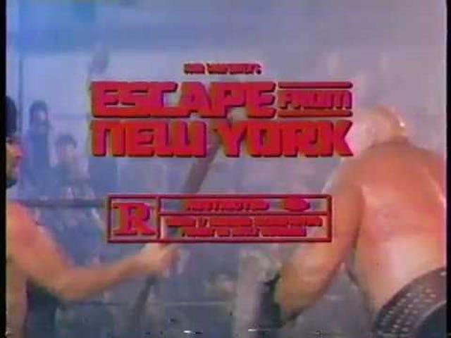 Escape från New York (1981)