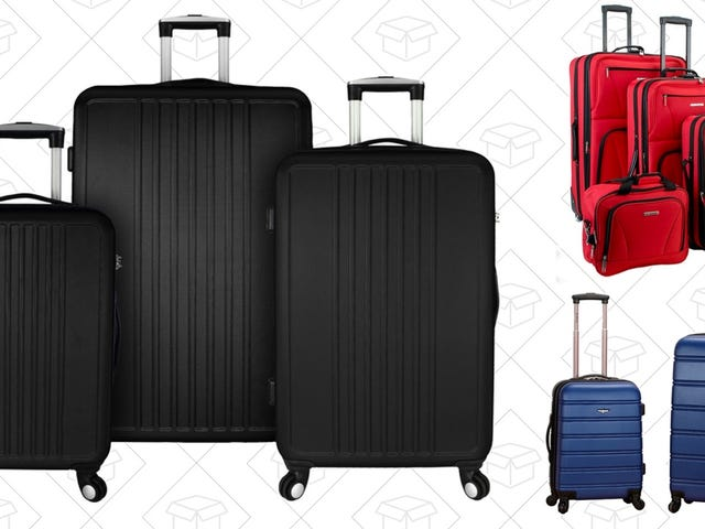 Take Off With Up 60% Off Luggage Sets From Home Depot