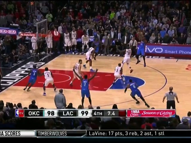 Kevin Durant Jumper With 5.8 Seconds Left Tops Clippers In Thrilling Finish