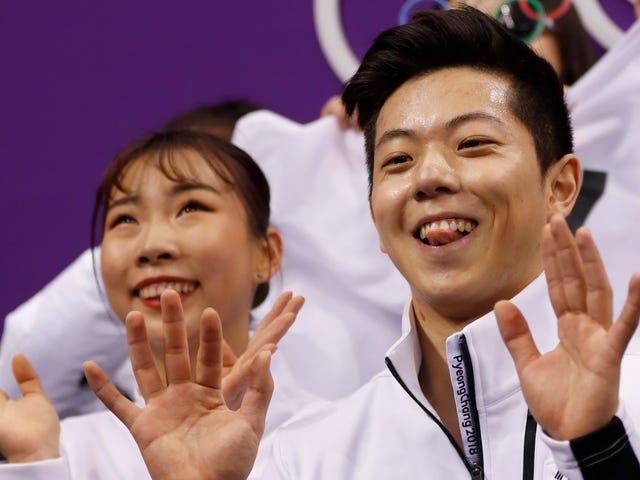 Ta Koreańska Łyżwiarka Figurowa jest wyjątkowo aktywna
