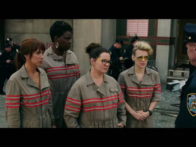 Kate McKinnon's Ghostbusters Outtake Reel Is an Excellent Way to End the Week