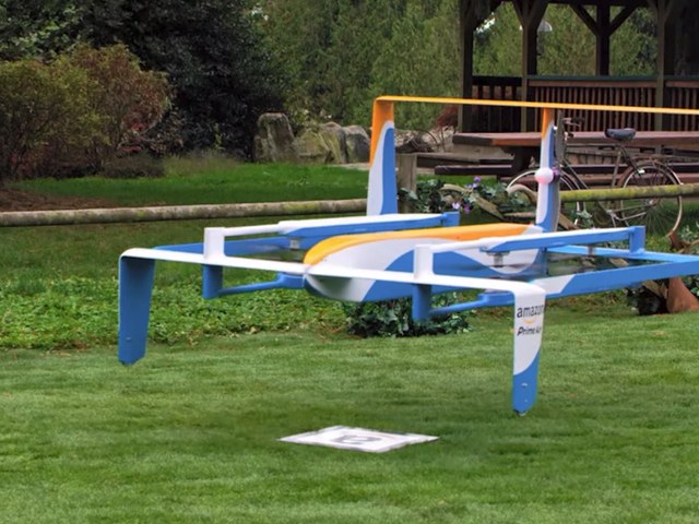 Amazon Wants to Protect You From Falling Drones by Making Them Self-Destruct