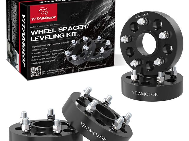 "YITAMOTOR via Amazon has 5x5 Wheel Adapters 1.5"" SGS Approved Compatible for 2007-2017 Jeep Wrangle $75.99"