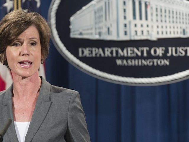Trump Fires Attorney General Sally Yates for Refusal to Support Muslim Ban
