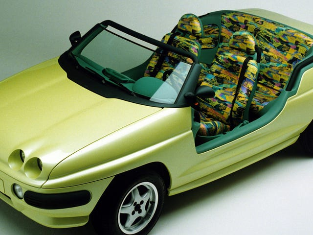 [Holy shit the seats in the 1991 Volkswagen Vario concept car