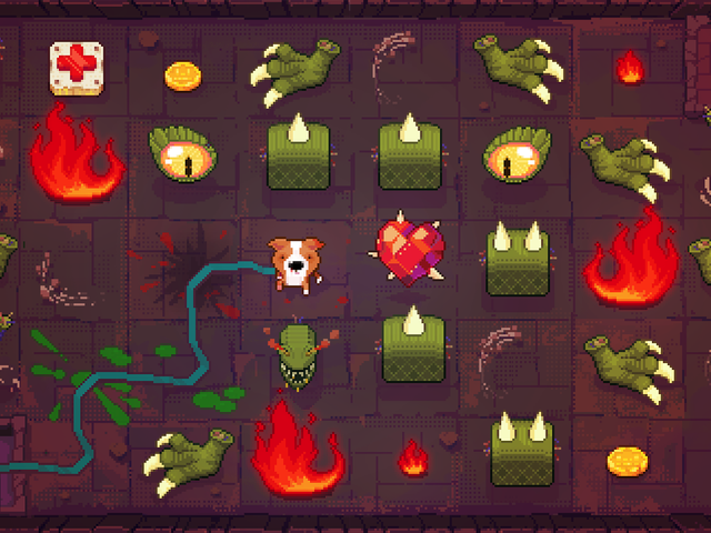 A Puzzle Game About A Dungeon Delving Dog