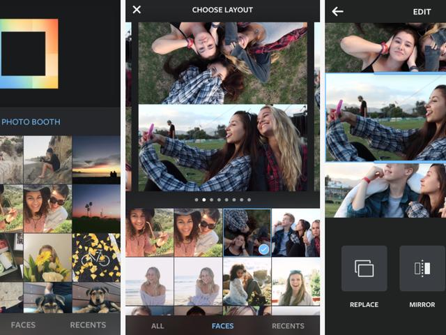"""Η νέα εφαρμογή """"Layout"""" της Instagram σάς επιτρέπει να τραβάτε την τροφή σας γεμάτη από κολάζ"""