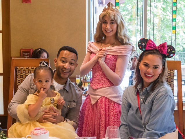 Chrissy Teigen's great week: Disneyland, Time 100, dunking on Laura Ingraham