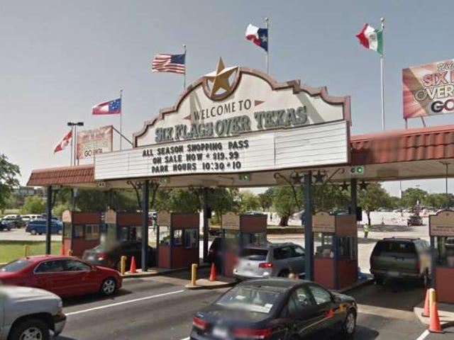 Six Flags Over Texas loại bỏ cờ liên minh khỏi vùng đánh dấu của nó, thay thế tất cả các lá cờ với cờ Mỹ