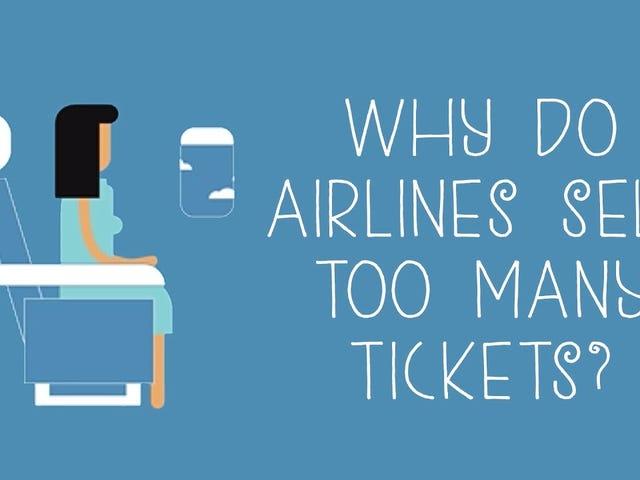 Pourquoi les compagnies aériennes vendent-elles trop de billets?