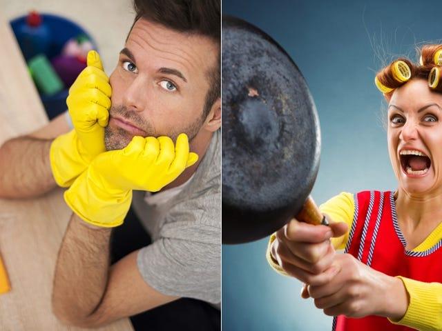 Faire la vaisselle pour des emplois fictifs et autres illusions domestiques