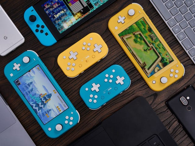 8BitDo's Switch Lite-Inspired Controller Has Two (!) D-Pads