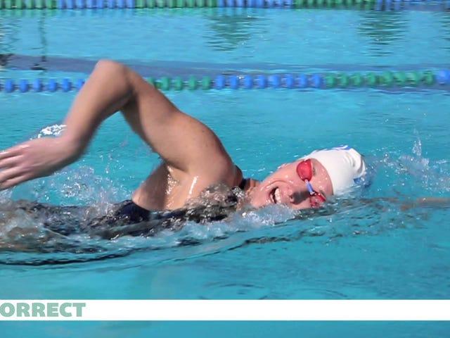 Opi hengittämään paremmin uimaan näiden aloittelijoiden vinkkejä