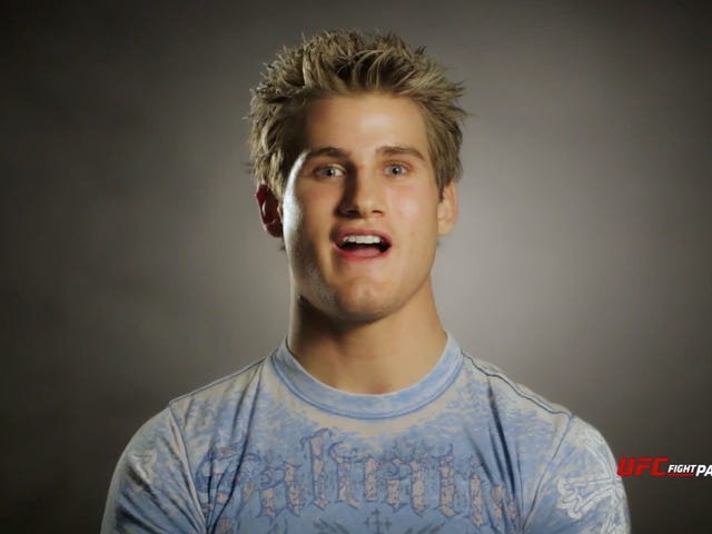 UFC Cuts Alarmingly Smiley Action Figure Sage Northcutt
