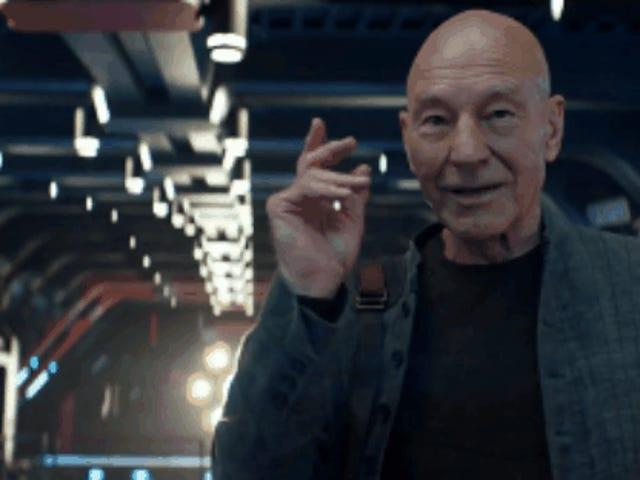 Star Trek: Picard får sin egen forhåndsroman og en tegneserie til opstart