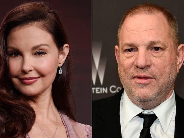 Ashley Judd Sønner Harvey Weinstein for Harming Hendes Karriere