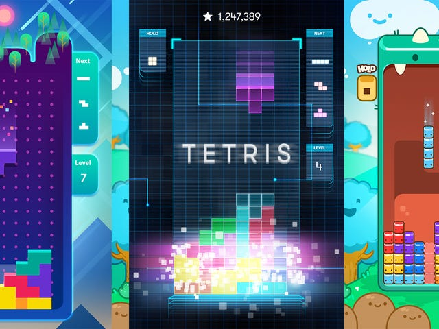 There's A New Official Mobile Tetris