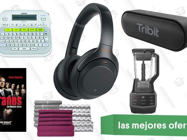 Las mejores ofertas de este jueves: Licuadoras Ninja, auriculares con cancelación de ruido de Sony, L.L. Bean y más