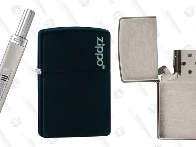 Get Yourself A Zippo Lighter Starting At Just $8 Right Now