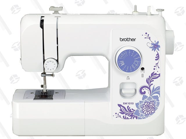 It's Sew Cheap! Get a Brother Sewing Machine For Just $74.