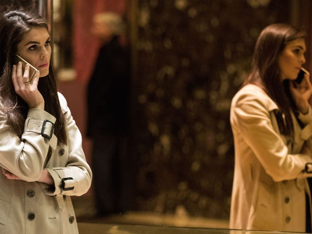 Hope Hicks May Soon Be Picking Up Where the Mooch Left Off