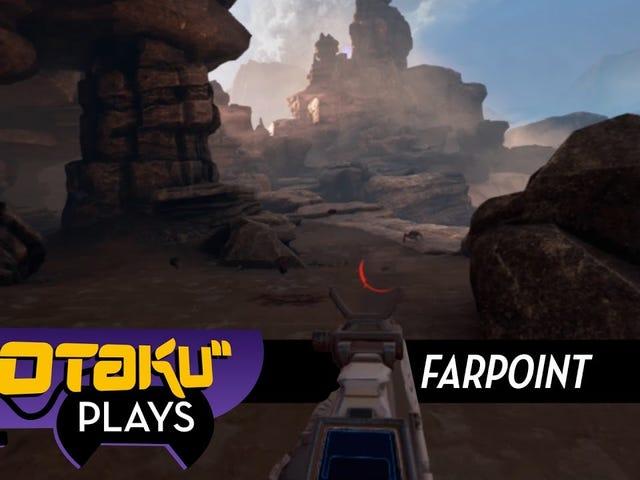 Farpoint obtiene la realidad virtual en primera persona.