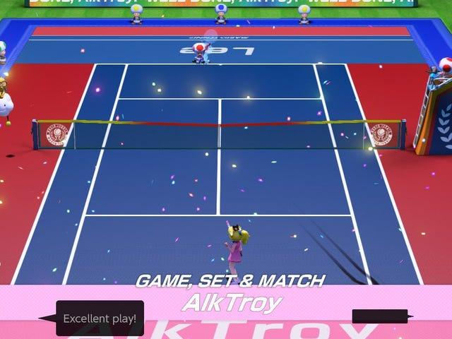 Way <i>Mario Tennis Aces</i> bygger sina online turneringsfästen är superklara