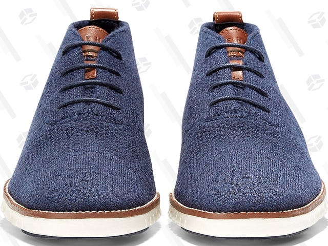 Cole Haan's Lightweight Wool Shoes Are Like Sweaters For Your Feet