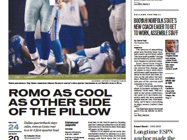 Newspaper's Sports Headlines Are All Stuart Scott Catchphrases