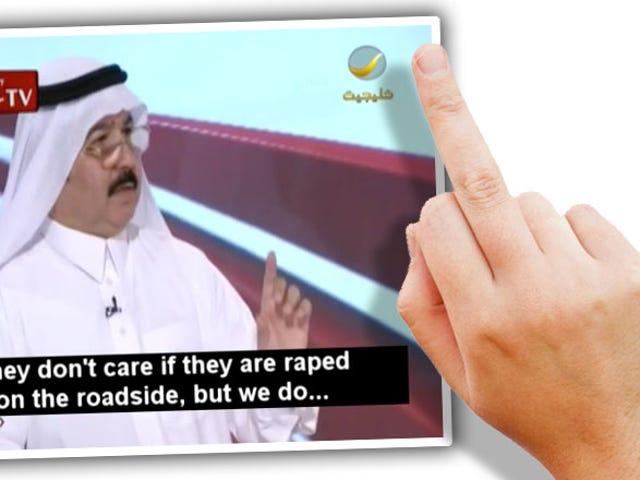 ह्यूमन-साइज़्ड टर्ड थिंक यूएस वीमेन ड्राइव क्योंकि वे रेप माइंड रेप नहीं करते