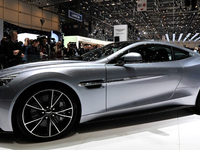 Here's Why The Names Of So Many Aston Martin Models Start With A 'V'