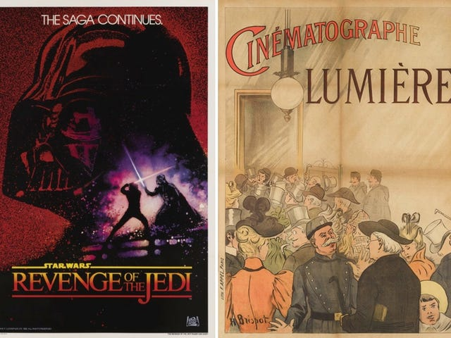 Rare Movie Posters Go Up For Auction, Including the World's First