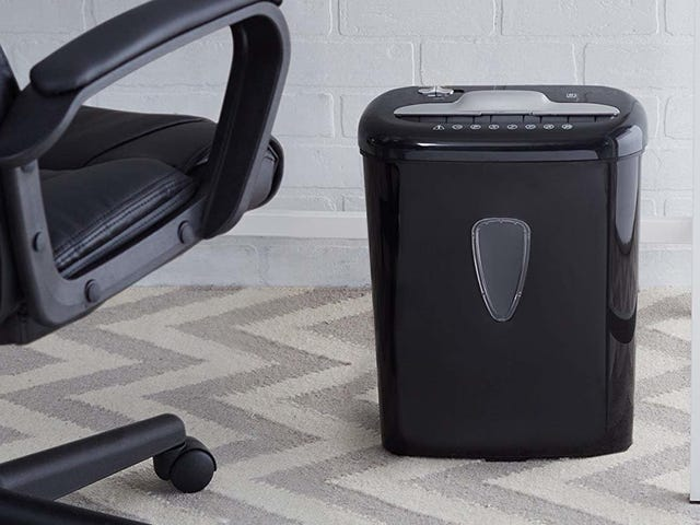 You Need a Shredder, And This One's Only $32