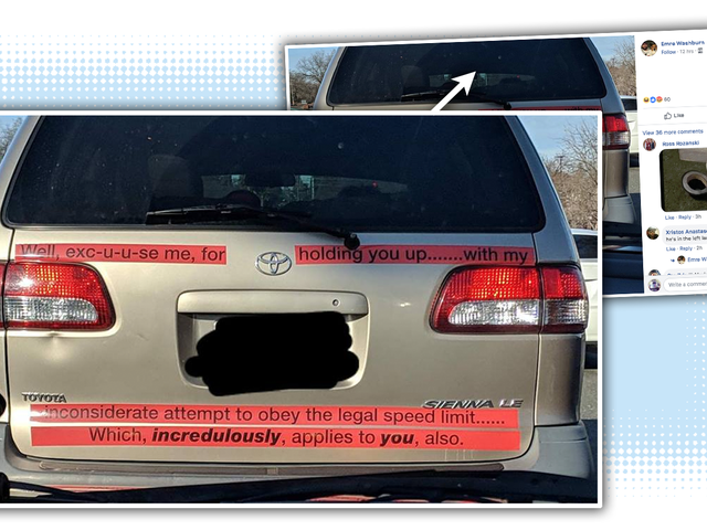 Here It Is, The Worst Homemade Bumper Sticker Ever