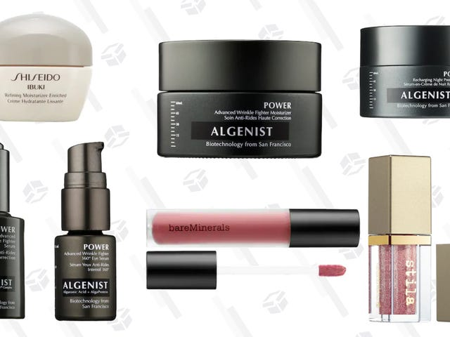 Algenist, Shiseido, Stila, and More of Sephora's Weekly Wow Deals