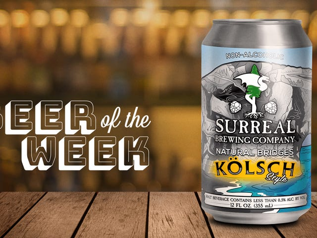 Beer Of The Week: Surreal's Natural Bridges kolsch is a non-alcoholic beer I can get behind