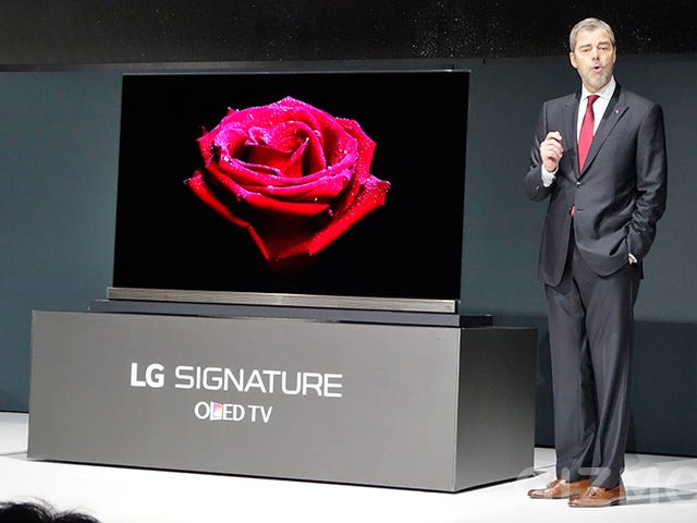 LGs nye 4K OLED-tv er kun fire kreditkort tykk