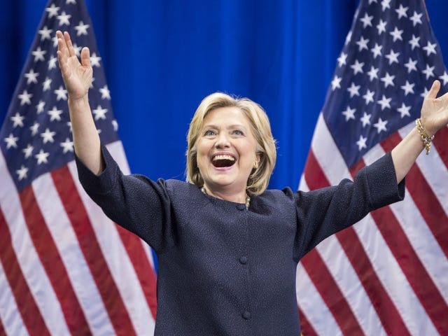 Clinton-kampagnen omfatter stærk kryptering, men ikke for os
